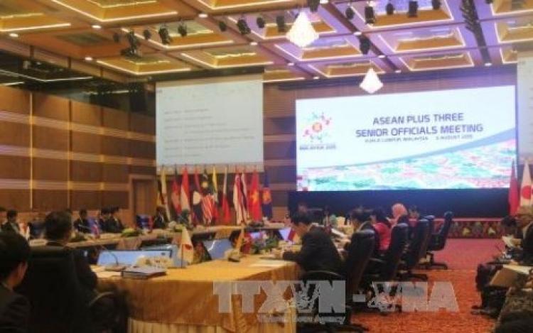 Hội nghị SOM ASEAN + 3