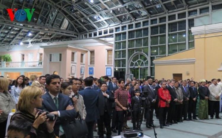 Đại sứ quán các nước ASEAN tại Nga kỷ niệm 48 năm thành lập ASEAN