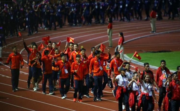 Việt Nam chính thức khởi động SEA Games 31