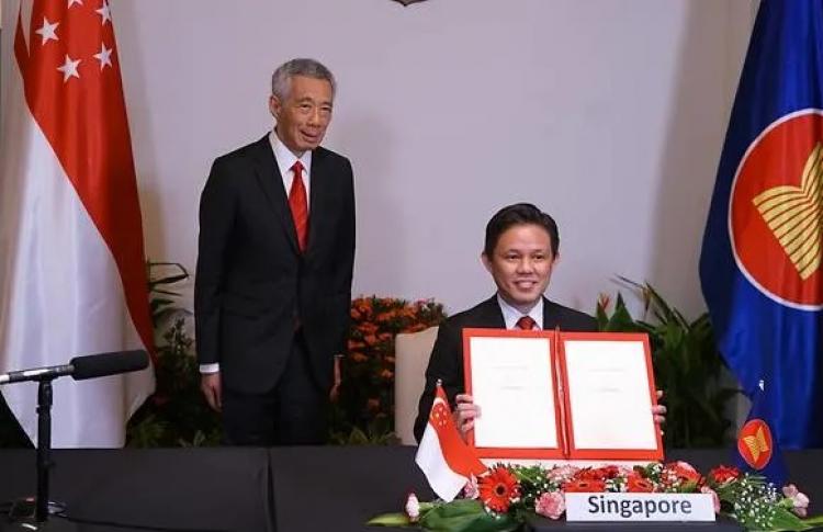 Ký kết RCEP: Điểm sáng trong một năm đầy thử thách của Singapore